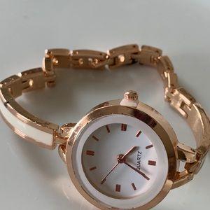Cuff Bangle Wrist Watch